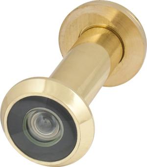 Глазок дверной, пластиковая оптика DV2, 16/55х85 GP Золото