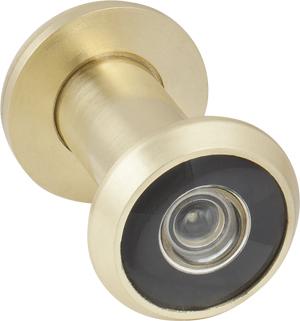 Глазок дверной, стеклянная оптика DVG1, 16/35х60 SG Мат. золото