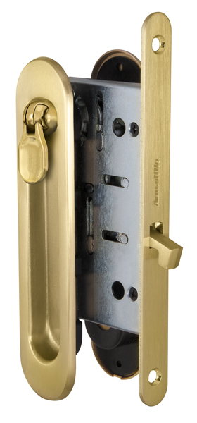 Набор для раздвижных дверей SH011-BK SG-1 Матовое золото