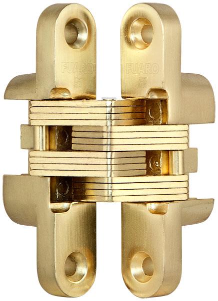 Универсальная петля скрытой установки INTERNO BASIC F542 SG Матовое золото 50 кг