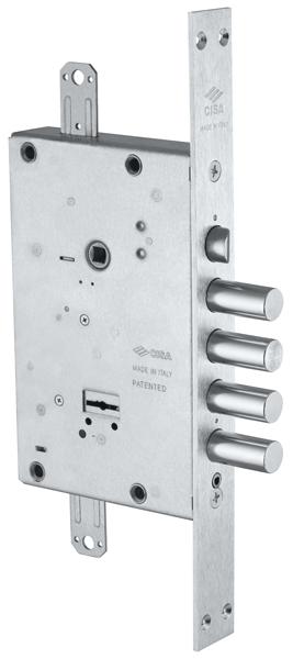 Замок врезной сувальдный NEW CAMBIO BASIC 57.685.48 (тех. упаковка), ключ 64 мм