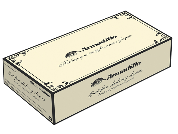 Ручка для раздвижных дверей SH010/CL SILVER-925 Серебро 925