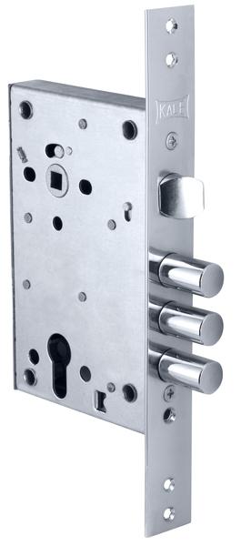 Корпус замка врезного цилиндрового 442 w/b (никель)