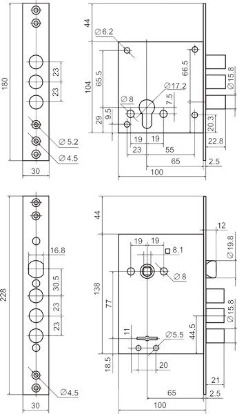Комплект BORDER Grand /87316+87317/