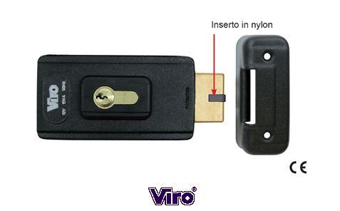 Viro V06 универсальный электромеханический замок с вращающейся защелкой