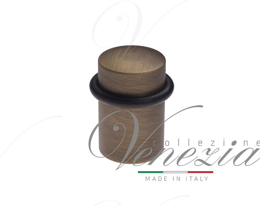 Упор дверной напольный Venezia ST3 матовая бронза