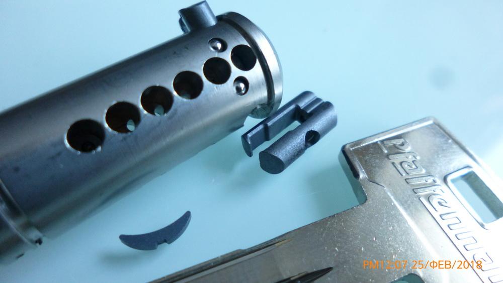 Сердцевина замка ABUS Pfaffenhain SKG3 ключ/вертушка 90 мм