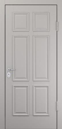 Стальная дверь BARS Emi XB (коттедж, атмосферостойкая эмаль))