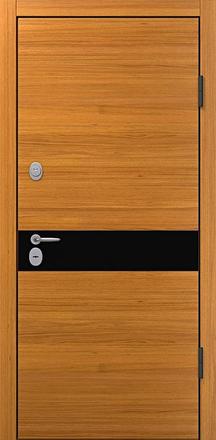 Сейф-дверь BARS Patrick-L (квартира, натуральный шпон, рояльный лак)