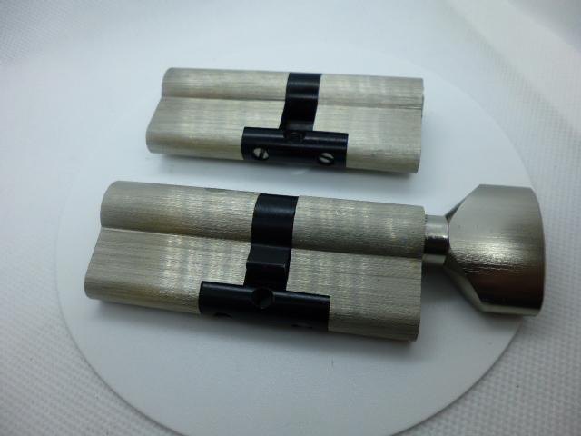 Набор из двух цилиндров Шерлок под один ключ (5 ключей, все размеры)
