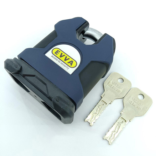 Навесной замок EVVA-SQUIRE SS65S цилиндр EVVA 3KS (5 ключей)
