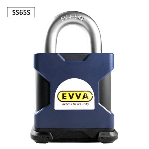 Навесной замок EVVA-SQUIRE SS65S цилиндр EVVA 3KS