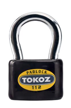 Навесной замок под один ключ TOKOZ 112 (Чехия)