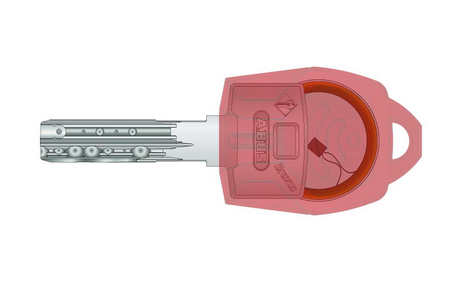 ABUS CombiCap (программируемая головка ключа открывает домофон)