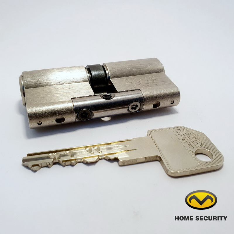 Цилиндровый механизм EVVA EPS ключ/ключ (5 ключей)