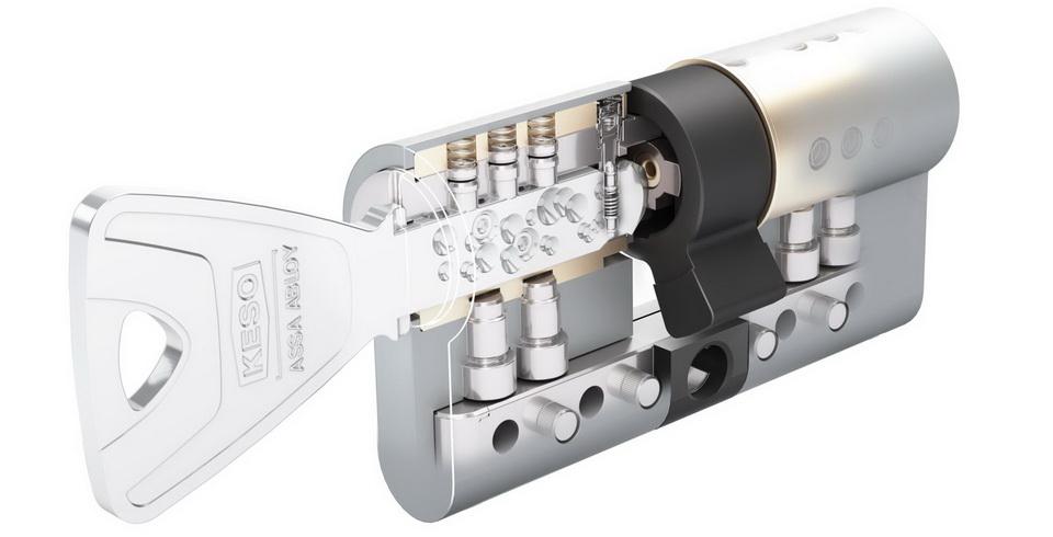 Advansed KESO 8000Ω² VdS B ключ/длинный шток (5 ключей)