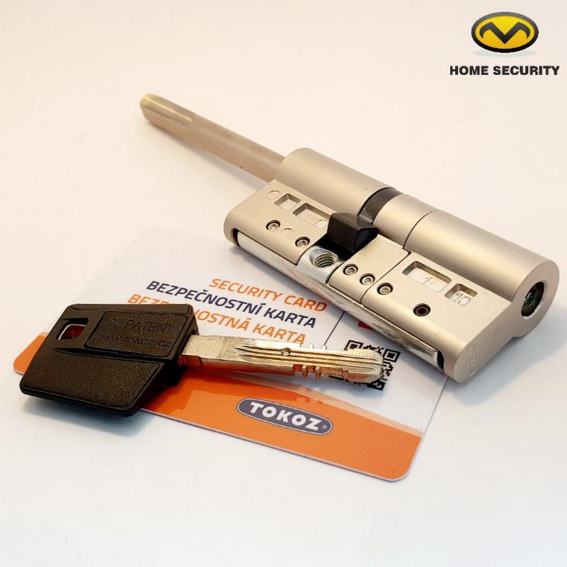 Цилиндровый механизм TOKOZ PRO 300 ключ/длинный шток